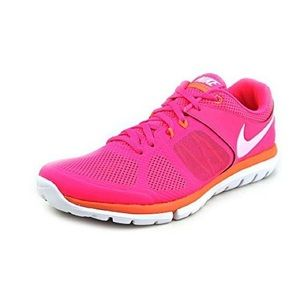 Nike Flex 2014 RN Pink Running Shoes Size 9.5